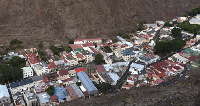 Jamestown St Helena by Scott Bennett