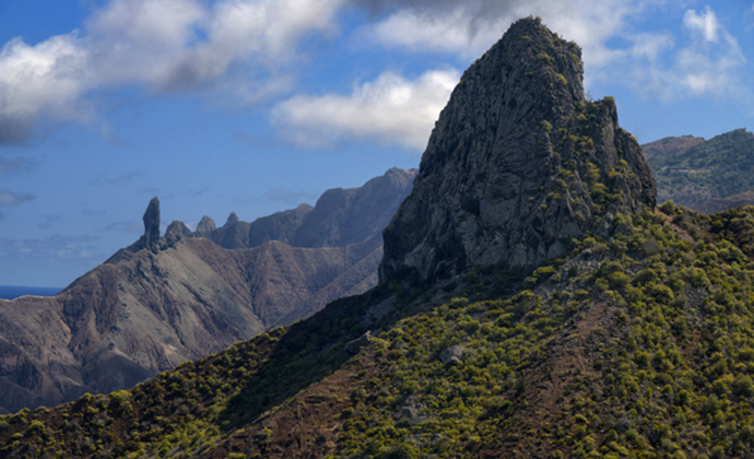 Lot and Lot's Wife St Helena by Scott Bennett