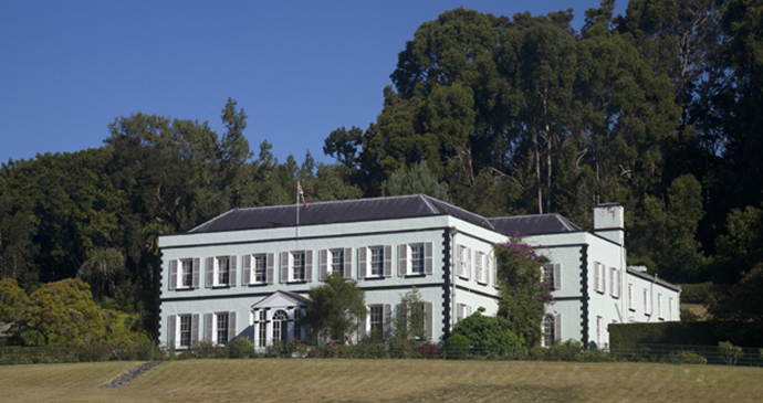 Plantation House St Helena by Scott Bennett