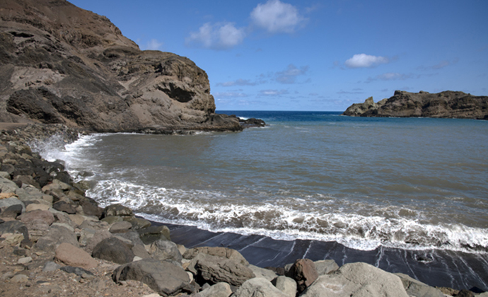 Sandy Bay St Helena by Scott Bennett