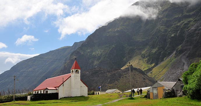 Church of St Joseph Tristan da Cunha by Adrian Turner