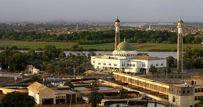 Al-Mogran Mosque Khartoum Sudan Africa by Mini Fouad Shutterstock