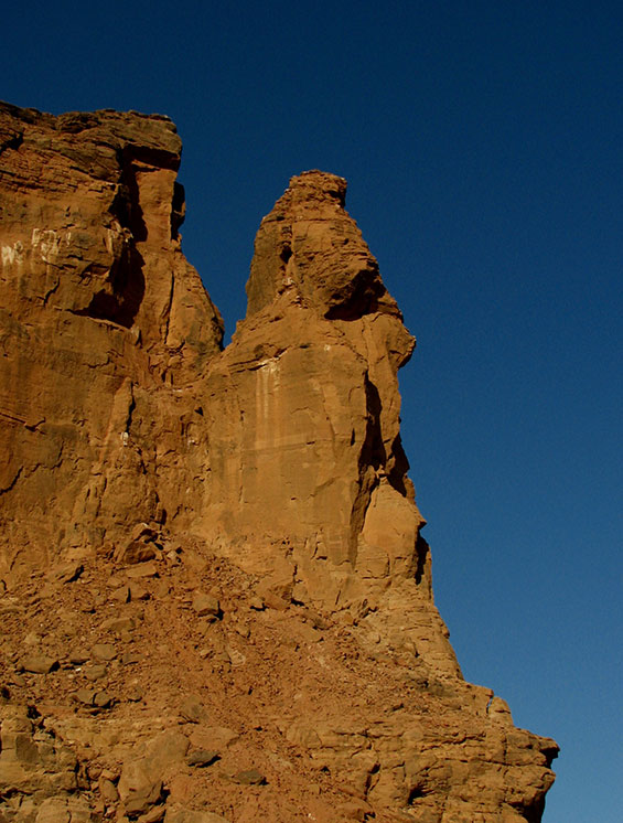 jebel barkal rock sudan africa by sophie and max lovell-hoare
