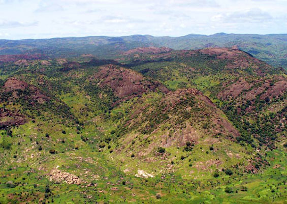 nuba mountains sudan africa by Andreas31 wikipedia