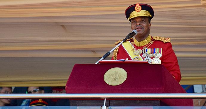 Mswati III, Swaziland by Sophie Ibbotson