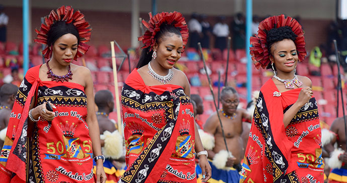 Dancers, Swaziland by Sophie Ibbotson
