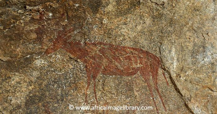 Kondoa rock art Tanzania by Ariadne Van Zandbergen