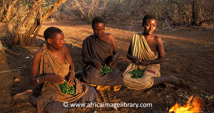 Hazda people Tanzania by Ariadne Van Zandbergen