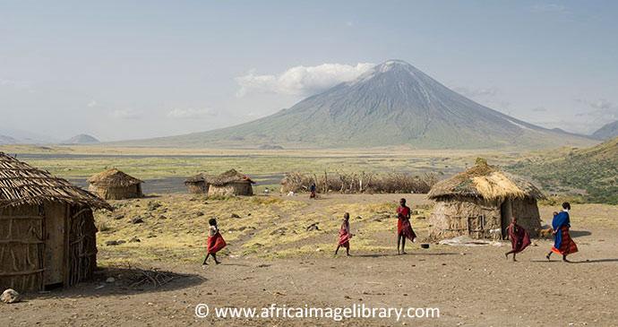 Maasai tribe Ol Doinyo Lengai Tanzania by Ariadne Van Zandbergen