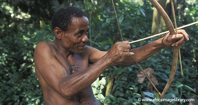 Batwa hunter-gatherer group Ariadne Van Zandbergen