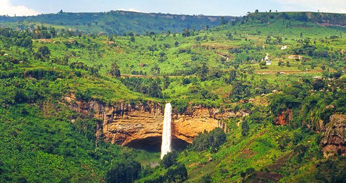Sipi Falls Elgon Uganda