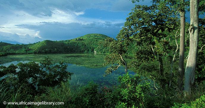 Toro Crater Lakes Uganda