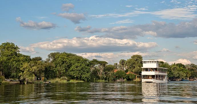 River cruise on Zambezi, Zambia by Delstudio, Dreamstime.com