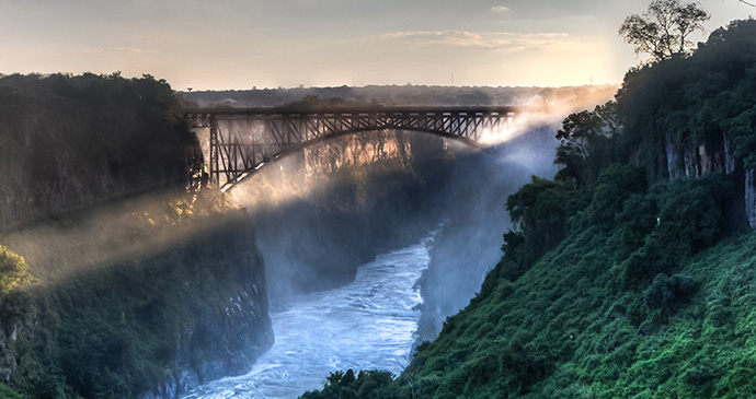 Bridge, Victoria Falls, Zambia by Demerzel21, Dreamstime.com