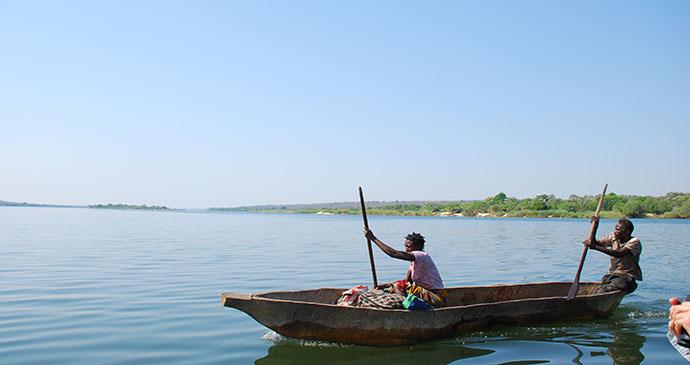Lower Zambezi National Park Zambia by Tricia Hayne
