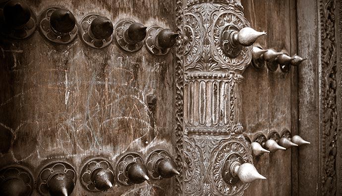 Antique door  Stone Town Zanzibar Tanzania by Bartosz Budrewicz, Shutterstock