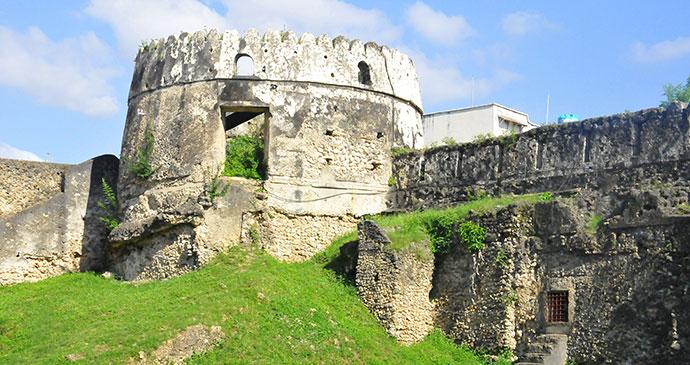 old fort stone town zanzibar tanzania africa