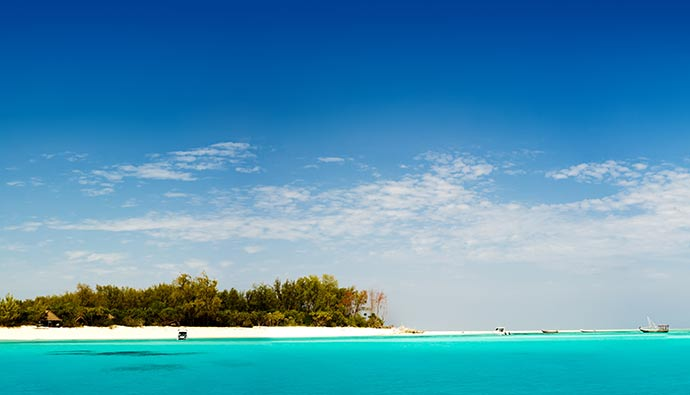 View Mnemba island Zanzibar Tanzania by Warren Goldswain, Shutterstock