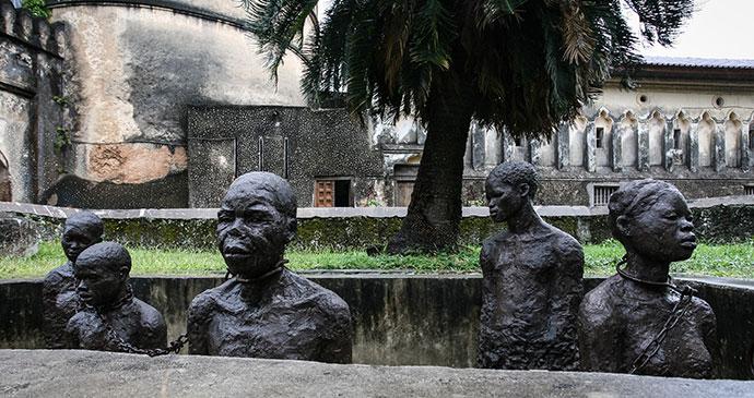 Slavery monument stone town anglican cathedral zanzibar tanzania