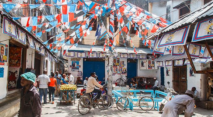 Stone Town Zanzibar Tanzania by Koverninska Olga, Shutterstock
