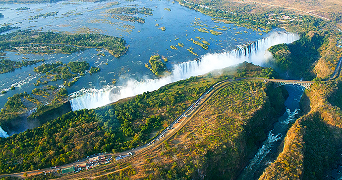 Victoria Falls Zimbabwe by Sarah Kerr Wild Horizons