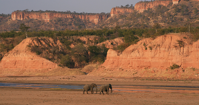Chilojo Cliffs Gonarezhou National Park Zimbabwe by Paul Murray