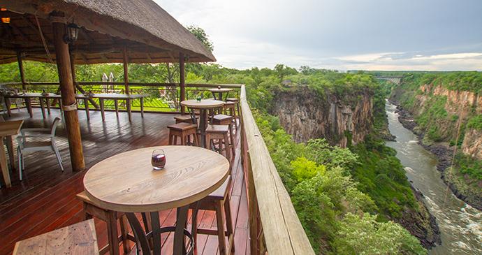 Lookout Cafe, Victoria Falls, Zimbabwe by Sarah Kerr, Wild Horizons