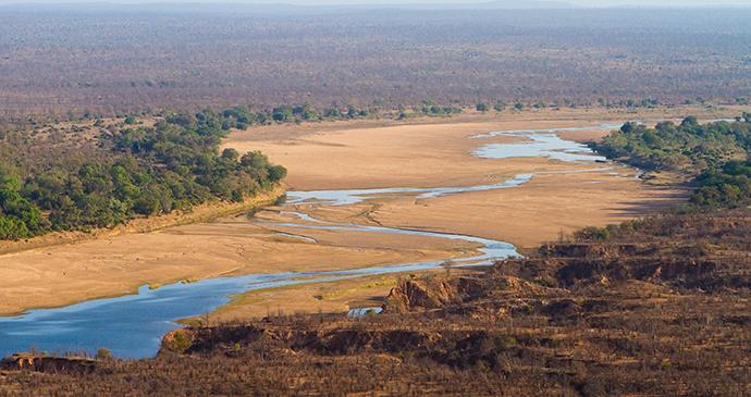 Runde River, Gonarezhou National Park, Zimbabwe by Villiers Steyn, Shutterstock