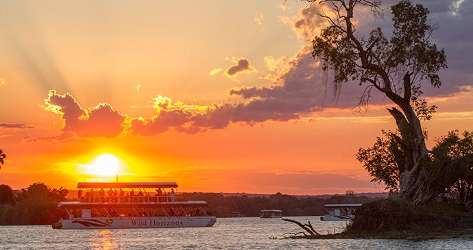 Zambezi River Cruise, Victoria Falls, Zimbabwe by Sarah Kerr, Wild Horizons