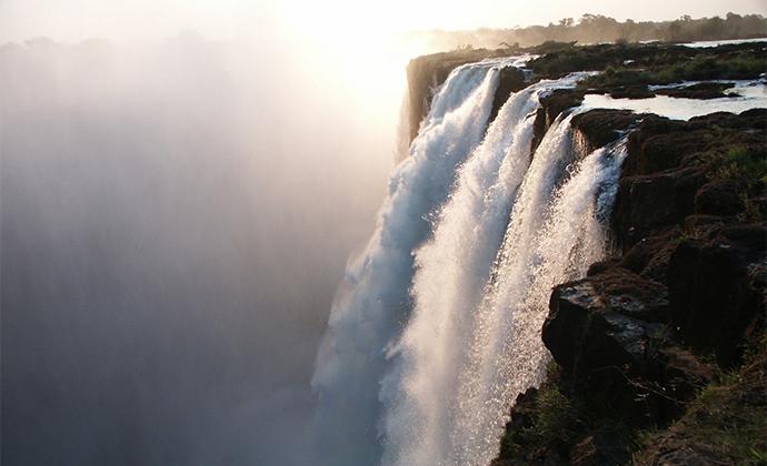 Victoria Falls Zambezi River Zimbabwe by Simon Elton