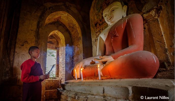 Bagan Myanmar by Laurent Nilles