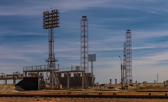 Baikonur Cosmodrome Kyzylorda Region Kazakhstan by Ninara CC-BY