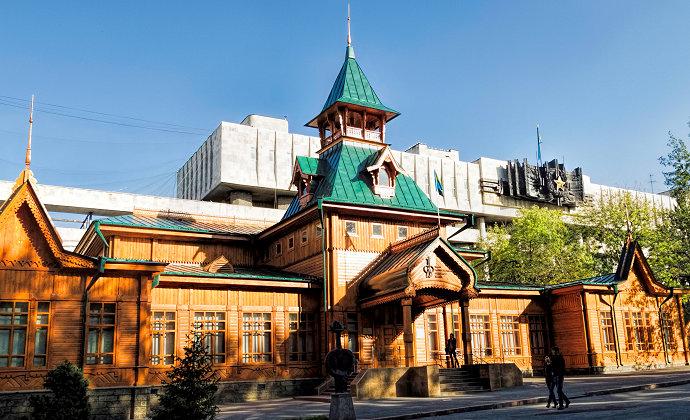 Museum of Kazakh National Musical Instruments Almaty Kazakhstan by Dan Lundberg CC-BY-SA