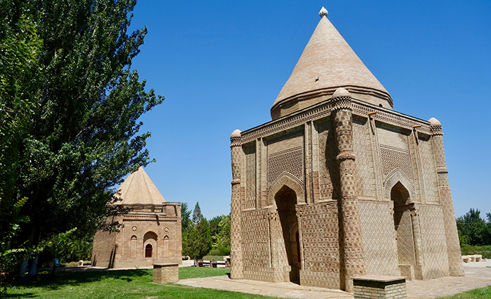 Mausoleum of Aisha Bibi Jambyl Region Kazakhstan by Maria Oleynik