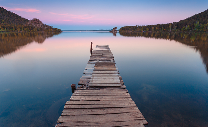 Borovoye lake Akmola Region Kazakhstan by Stone36, Shutterstock