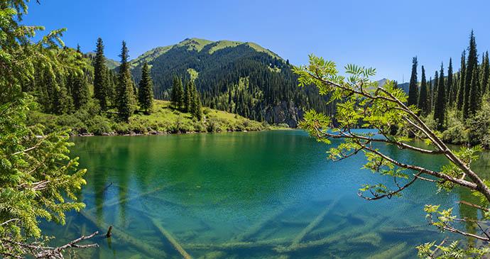 Kolsai Lakes Almaty Region Kazakhstan by AlezandrVlassyuk, Shutterstock