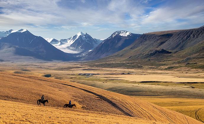 Steppe Kazakhstan by Aureliy, Shutterstock
