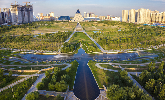 Palace of Peace Nur-Sultan Kazakhstan by EXPO-2017 National Company