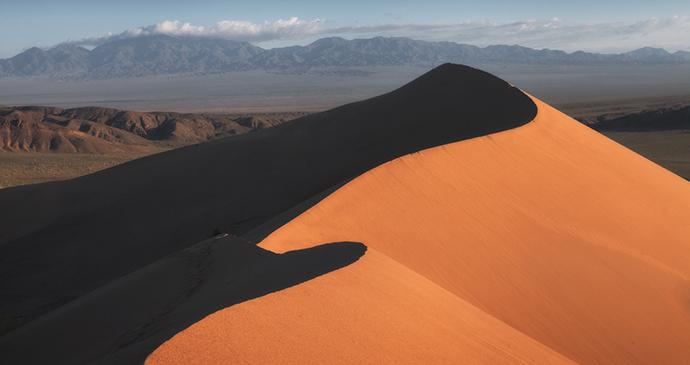 Singing Sand Dune Altyn-Emel National Park Almaty Region Kazakhstan by Sergey Terekhov