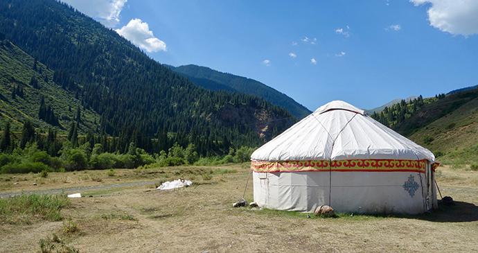Yurt Kazakhstan by Maria Oleynik