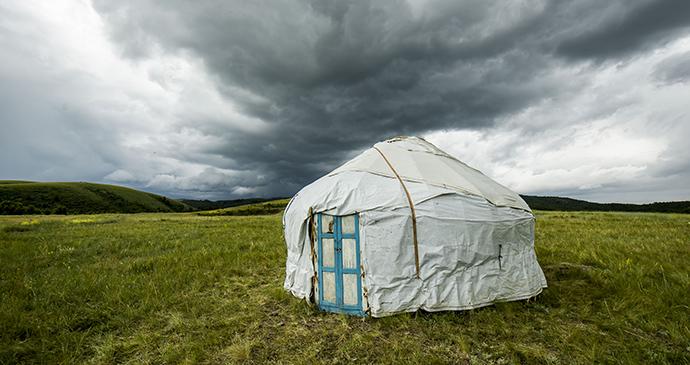 Yurts Kazakhstan by OspanAli