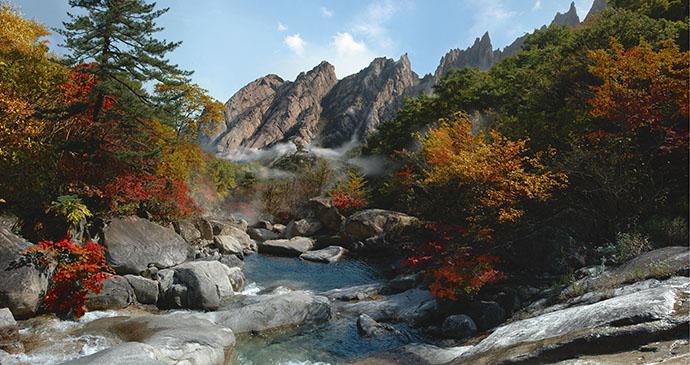Mt Paekdu North Korea © Regent Holidays