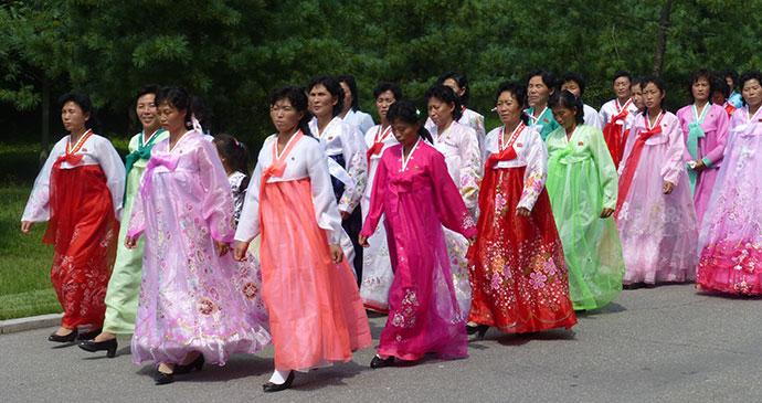 Women in national dress by Hilary Bradt