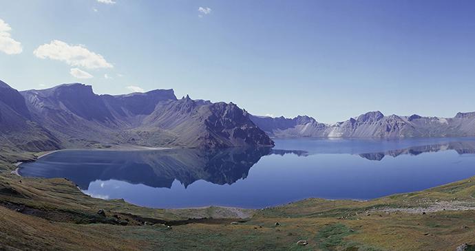 Mount Paektu North Korea by npine, Shutterstock