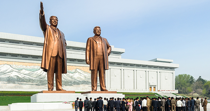 Mansudae Grand Monument Pyongyang North Korea by Anton Ivanov, Shutterstock