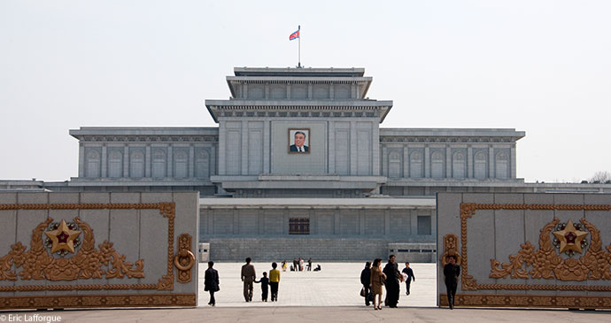 The Kumsusan Memorial Palace of the Sun Pyongyang North Korea by Eric Lafforgue