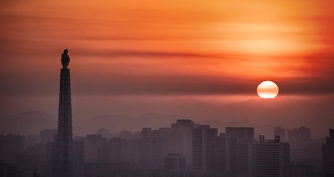 Pyongyang skyline North Korea by Ablakat, Shutterstock