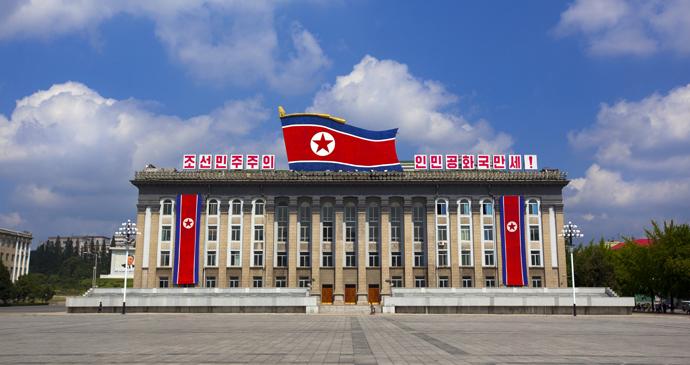 Kim Il Sung Square, Pyongyang, North Korea by Eric Lafforgue, www.ericlafforgue.com