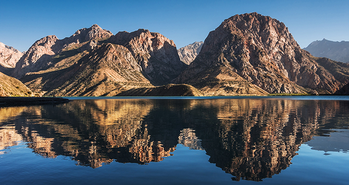 Lake Iskanderkul Tajikistan by Pavel Svoboda Photography, Shutterstock
