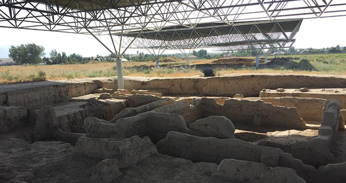 Sarazm ruins Tajikistan by Kalpak Travel